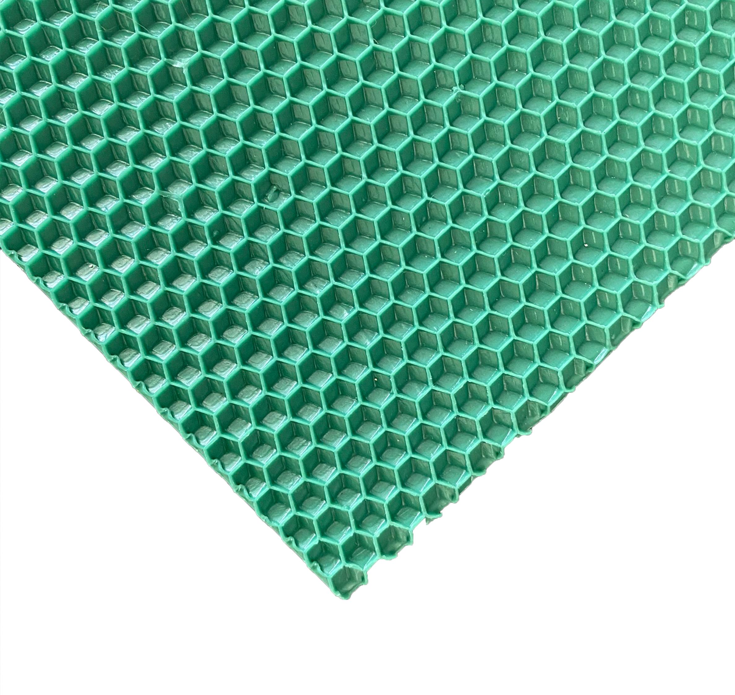 Лист Вощины, зеленый